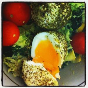 spiced eggs by chia mia
