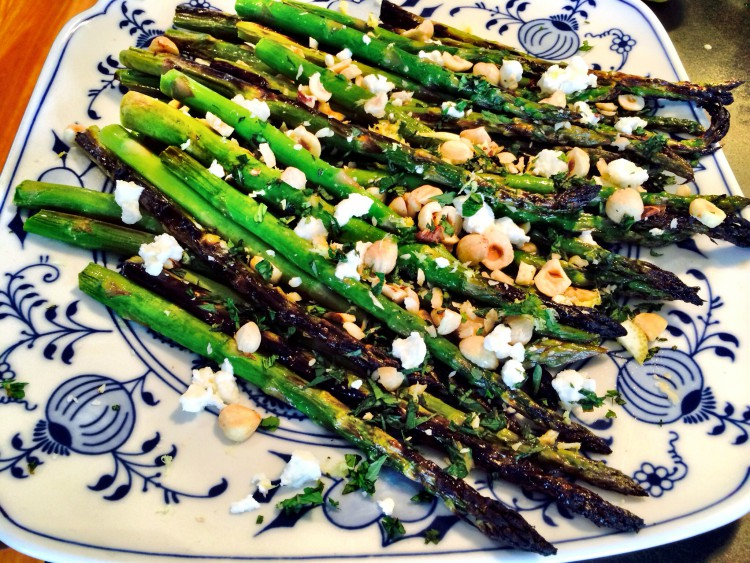 ... Monday – Grilled Asparagus Salad with Goats Cheese | Jessica Sepel