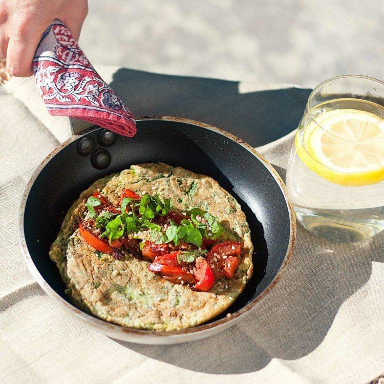green omelete blog