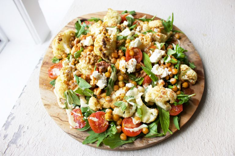 JSHealth Harissa Cauliflower Salad