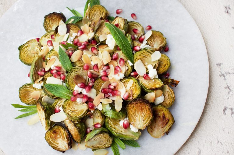 maple-roasted-brussels