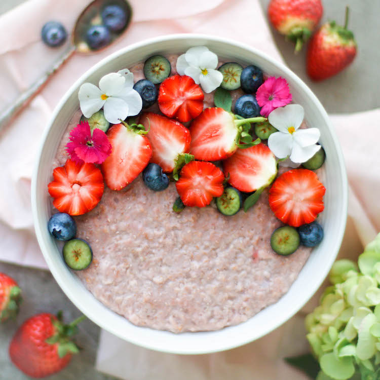 strawberry-oats