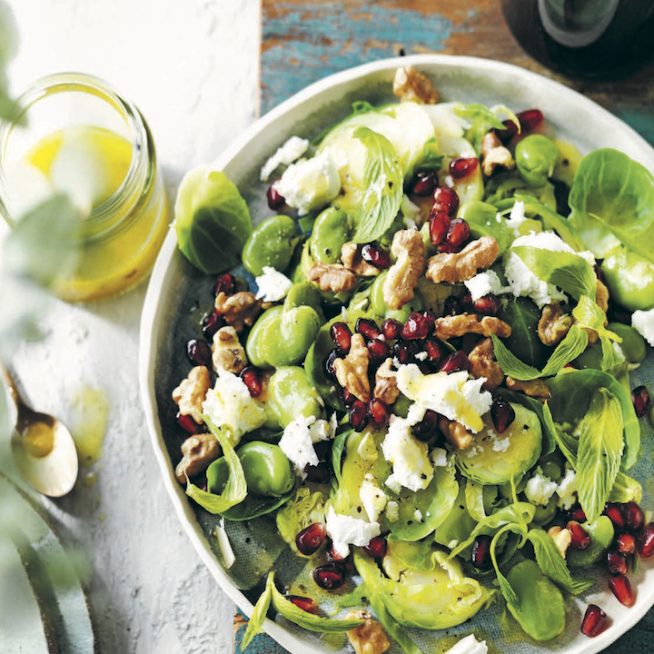 Shaved-Brussels-Sprouts-with-Pomegranate-Image