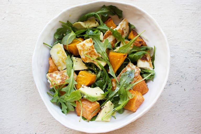 haloumi-salad